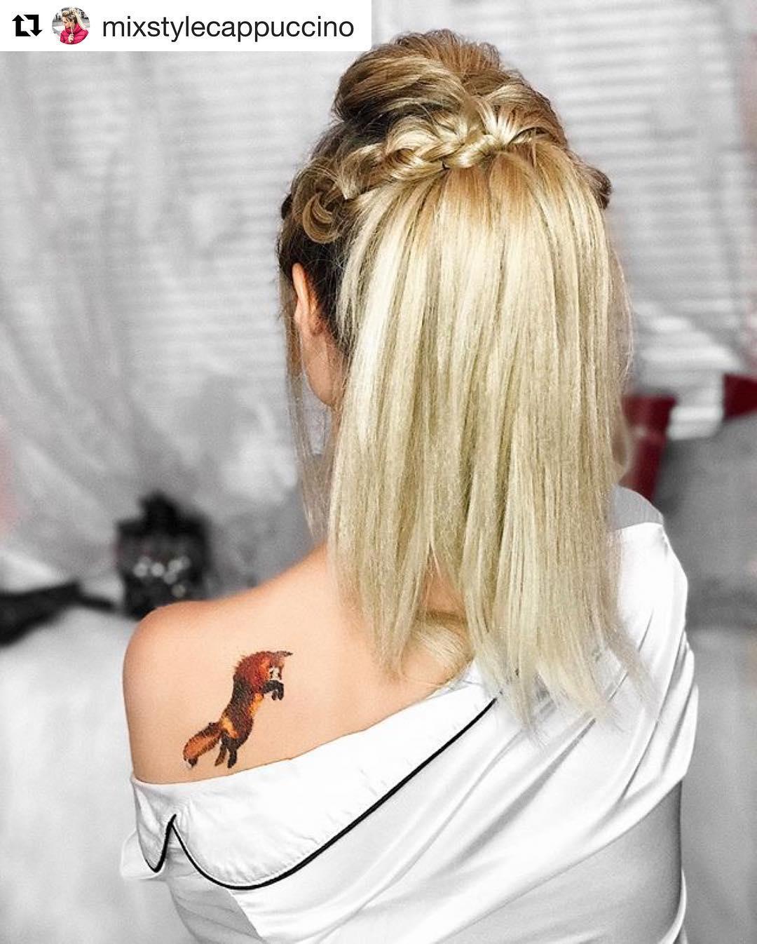 лисичка на плече