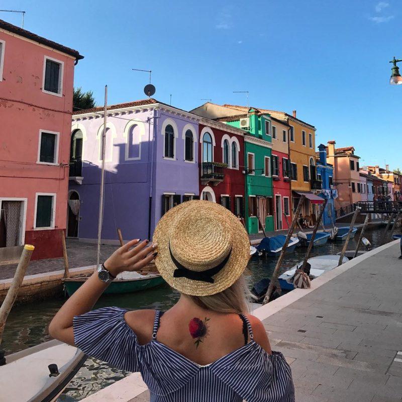 Роза и мандала в Венеции