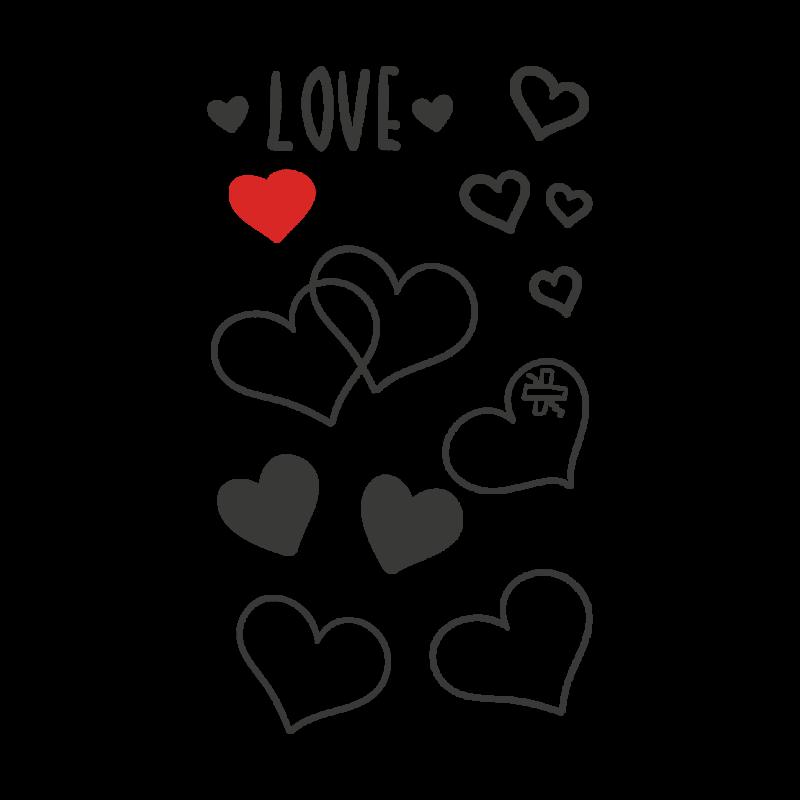 Временная тату мини любовь