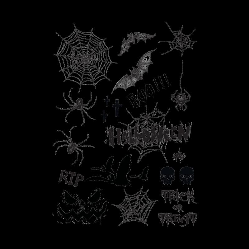 Временная тату набор для хелоуина
