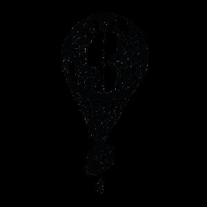 Тату воздушный шар