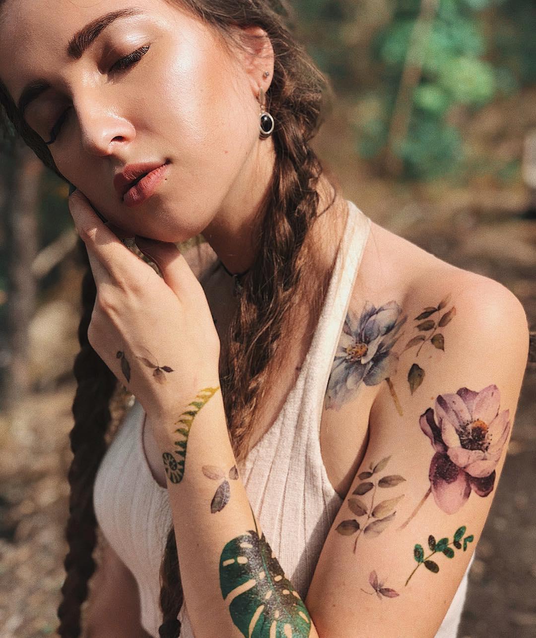 Youngleaf tattoo girls — 1