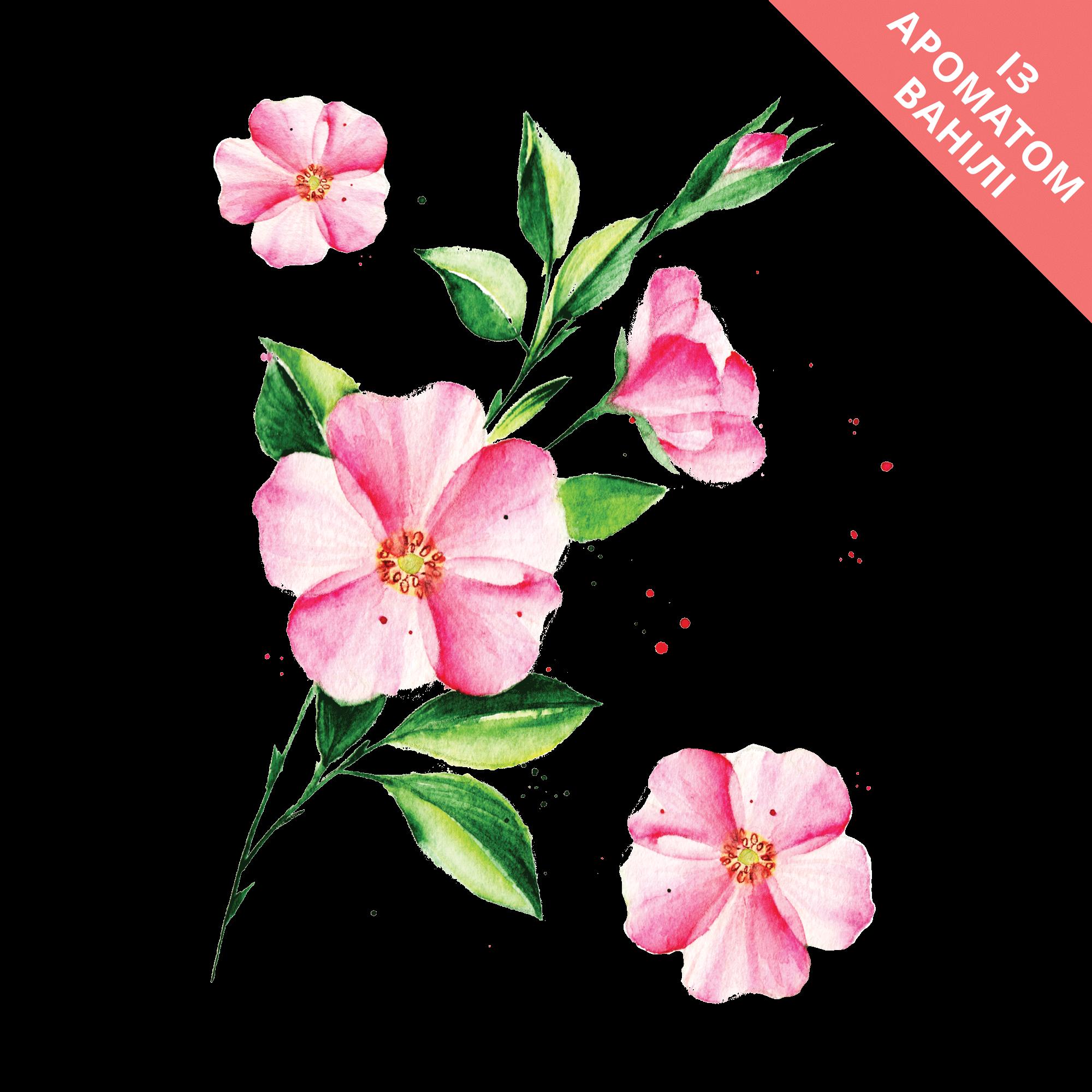 Временное тату Весенний цветок