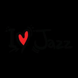 Временная татуировка я люблю джаз