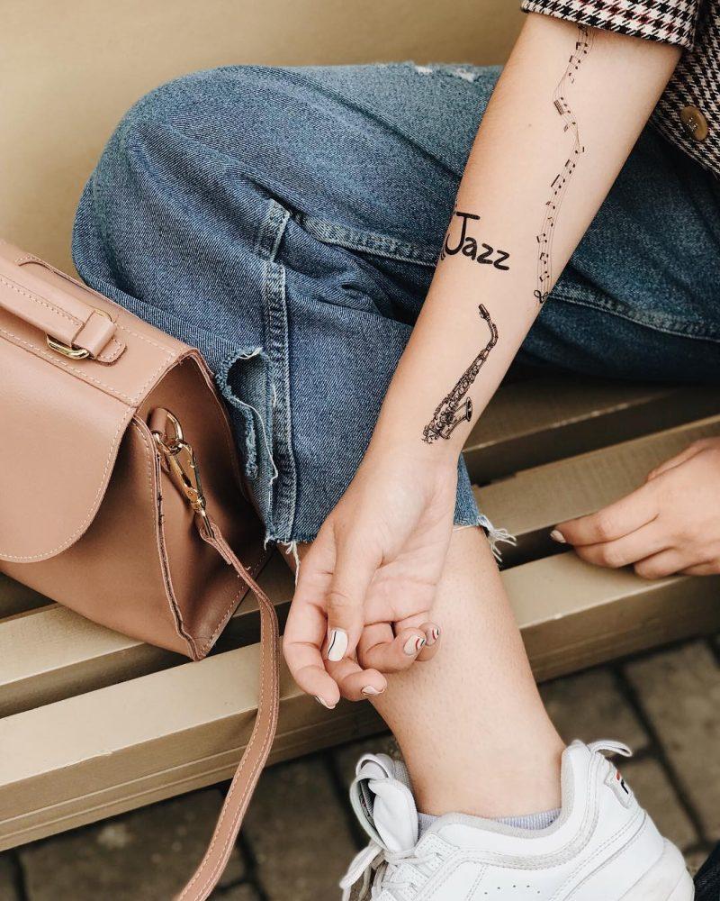 музыкальные тату